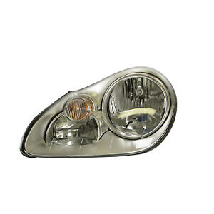 PO2502112 New Halogen HeadLight Assembly Driver Fits 2003-2006 Porsche Cayenne