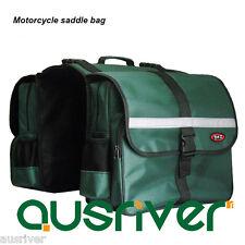 New Adjustable Motorcycle Bicycle Saddle Bags Luggage Bags Green/Purple/Black
