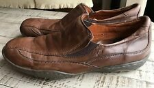 Born Hand Crafted Footwear Loafers Slip On Shoes Mens Brown Leather 13 47.5 M W