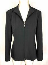 MARELLA Giacca Giubbotto Donna Zip Woman Rain Jacket Blazer Sz.L - 46