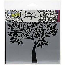 """Crafter's Workshop Template 6""""x6""""-faithful Tree"""