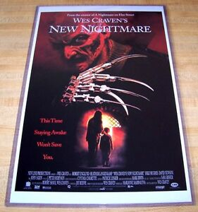 Wes Craven's New Nightmare on Elm Street Freddy Krueger 11X17 Movie Poster