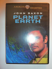 Planet Earth Dvd sci-fi movie 1974 Genesis Ii sequel John Saxon Gene Roddenberry