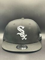 Chicago White Sox Classic Trucker New Era 9FIFTY Snapback Original Fit - Black