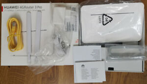 Huawei B535-232 Unlocked EU Plug + 2 SMA antennas FREE Shipping