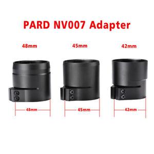 PARD NV007 Digital Night Vision Adapter Sleave 42/45/48mm bayonet Fit NV007 NEW