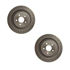 Mercedes 400SE 400SEL W140 Front and Rear Meyle Vented Brake Rotors with Pads