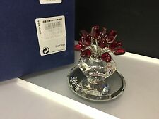 Swarovski Figur Rote Rosen 7,3 cm. Mit Ovp & Zertifikat. Top Zustand !!