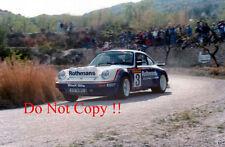 Henri Toivonen Porsche 911 SC RS Costa Brava Rally 1984 Photograph 2