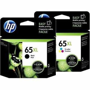 Genuine Original HP 65 / 65XL Ink For Deskjet 2620/3720/ENVY5020/5030/AMP120