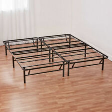 Platform King Size Heavy Duty Metal Steel Bed Frame Mattress Foundation NEW