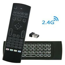 Backlit MX3 2.4G Air Mouse Wireless Qwerty Keyboard IR Remote Control Controller
