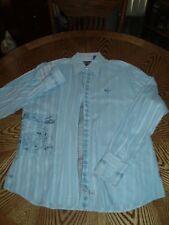 NICE ENGLISH LAUNDRY LIGHT BLUE DRESS SHIRT - Size Extra Large 100% Cotton