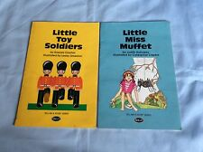 MGP - Tell me a story series - 2 books - Little Miss Muffet/Little Toy Soldiers