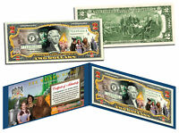 WIZARD OF OZ Legal Tender U.S. $2 Bill OFFICIALLY LICENSED w/Folio & Certificate