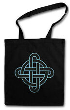 Celtic Knot V Hipster BAG-BORSA TESSUTO STOFFA sacchetto-CELTI NODO CROSS CROCE