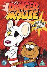 Danger Mouse Saves World Again DVD - Kids Children Family Cartoon Retro **NEW**