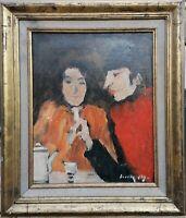 tableau huile sur toile  signée Boudkowsky