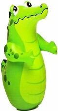 Intex Inflatable Crocodile Hit Me Bop Bounce Back Bouncers Toy LIMITED STOCK