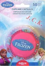 50 congelados Fiesta De Cumpleaños Cupcake de papel de hornear casos Decoraciones Decoraciones