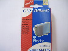 Pelikan tinta color c32 photo cian talla 1505 13ml #361738 PIXMA IP 6660 d cli-8pc