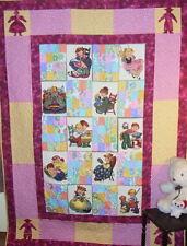Children at Play - Girls Quilt Pattern