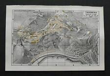 Antica Stampa=Topografica=TAORMINA =Scala1:11000 -1909c