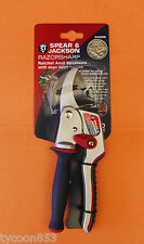 RAZORSHARP ANVIL SECATEURS RATCHET PRUNER w/- ERGO-TWIST HANDLE SPEAR & JACKSON