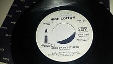 HIGH COTTON Going Up To Get Down ISLAND 056 RARE PROMO 45