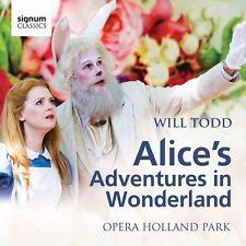 Todd / Opera Holland - Alice's Adventures in Wonderland [New CD]