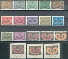WWII Generalgouvernement Lot aus 2x Mi.-Nr.1-15**/o (MICHEL € 130,00) RARE