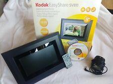 "Kodak EasyShare SV811 8"" Digital Picture Frame In Box, Works Great"