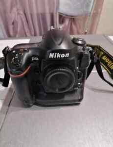 Nikon D4s Body Camera Used