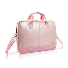 Pink Women Messenger Laptop Bags Shoulder Laptop Bag Case 15'' Notebook Computer