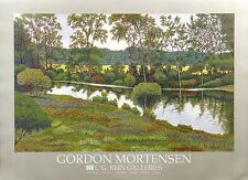 Gordon Mortensen, River Flowers, unsigned offset lithograph on paper L@@K! NR