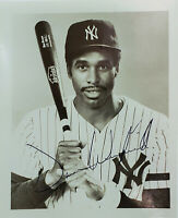 SIGNED PICTURE OF DAVE WINFIELD - 1ST YEAR WITH YANKEES
