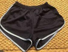Vintage FULLSPEED shiny unlined running pe gym fitness Hot Pants Women's M