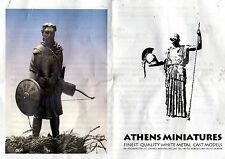 ATHENS MINIATURES - BYZANTINE FOOT ARCHER PALOEG ARMIES 13th CENT - 54mm METAL