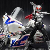 New S.H.Figuarts Masked Kamen Rider SUPER-1 & V-MACHINE Set Action Figure BANDAI