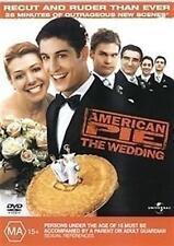AMERICAN PIE 3 The Wedding: Recut & Ruder Than Ever: Jason Biggs DVD NEW