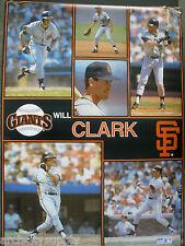 MONSTER POSTER: MLB BASEBALL: WILL CLARK - SF GIANTS - #PW-SLMP-WC  RAP135 C