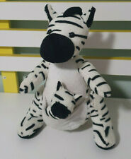MIXANIMALS PLUSH TOY STUFFED ANIMAL 27CM KANGAROO AND ZEBRA