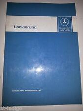 Werkstatthandbuch Reparaturanleitung Mercedes  LACKIERUNG W123 W124 W126 R107