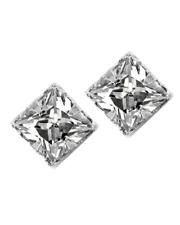 iJewelry2 No Pierced Ears Magnetic Stud Earrings Men Square 5mm Cubic Zirconia C