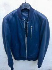 Men's ASOS Blue Light weight Leather jacket