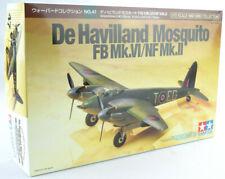 Tamiya De Havilland Moquito FB Mk.VI/NF Mk.II 1/72 Model Airplane Kit 60747