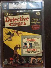 DETECTIVE COMICS #141 PGX VG/FN 5.0; OW-W; Bob Kane cvr/art; Swan art!
