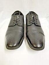 Dress Shoes, Marc Anthony Brand. Size 11 Medium, Black, Preowned