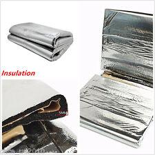 Car Turbo Exhaust Muffler Insulation for hood Fiberglass Cotton Heat Shield Mat