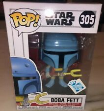 Funko Pop Star Wars 305 Animated Boba Fett GameStop Exclusive New IN STOCK